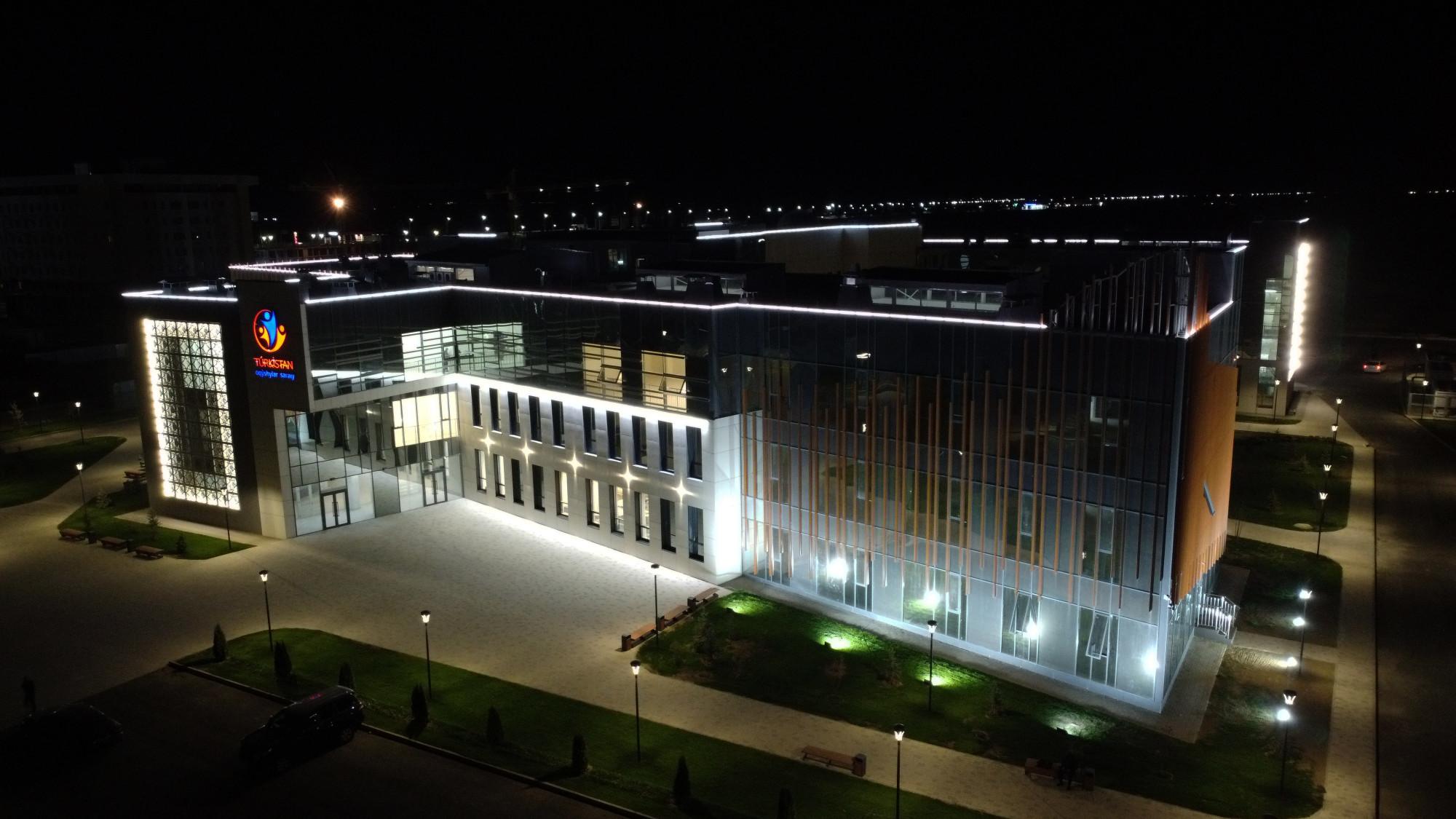 Түркістан қаласындағы Оқушылар сарайы | Әлеуметік объектілер | АО  «Samruk-Kazyna Construction»